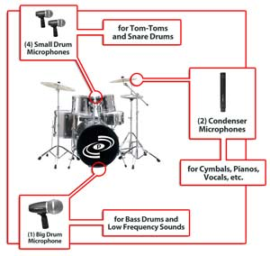 Microphone Diagram