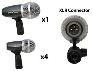 Big & Small Drum Microphones