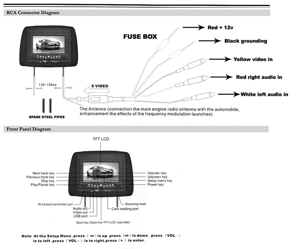 headrest monitors wiring diagram with B0037wrj4s on Car Video Interface For Lexus 2004 2009 My furthermore Dvd Headrest Wiring moreover Wiring Diagram Audiovox Headrest further Gmc Sierra Headrest Dvd Wiring as well Mini Din Plug Connectors Jack Of 1167357240.