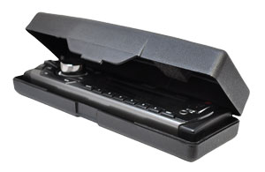 Fold-Down Detachable Face Panel with Case