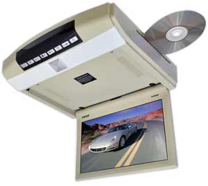 10.4-Inch Roof Mount Monitor & DVD Player