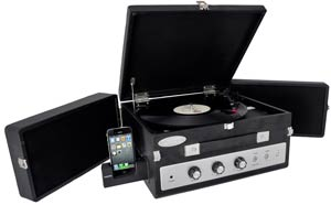 Classic Vinyl Record Player