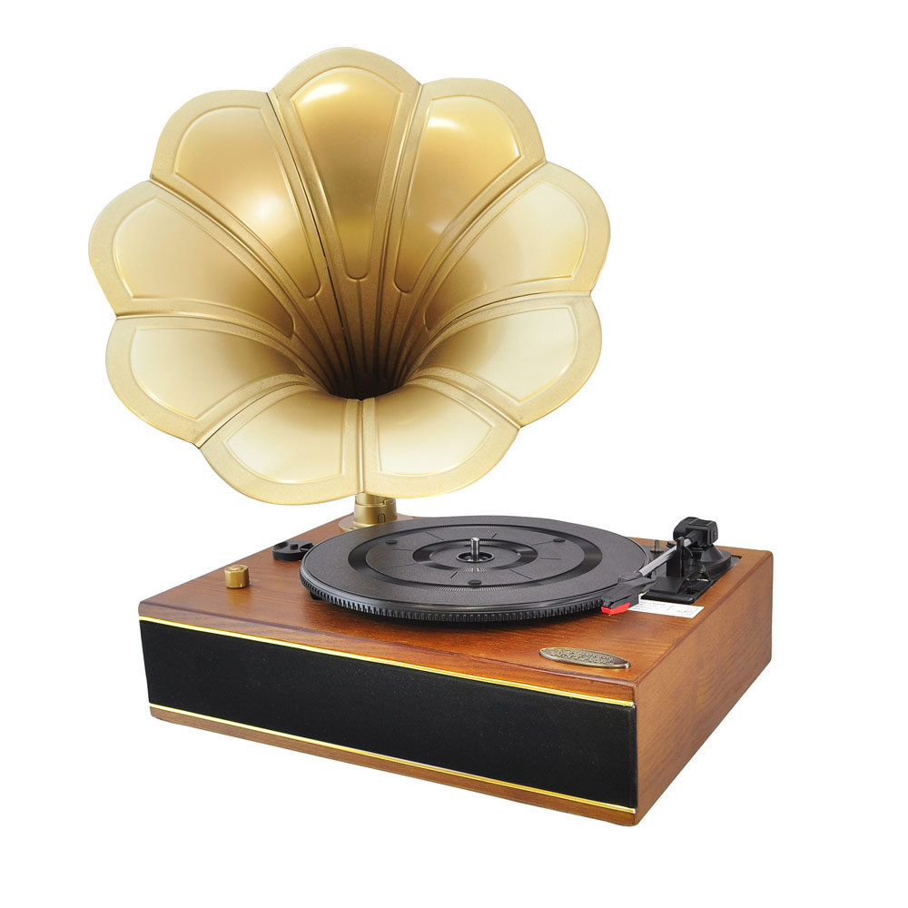 Pyle Home Pngtt1r Classic Horn Phonograph