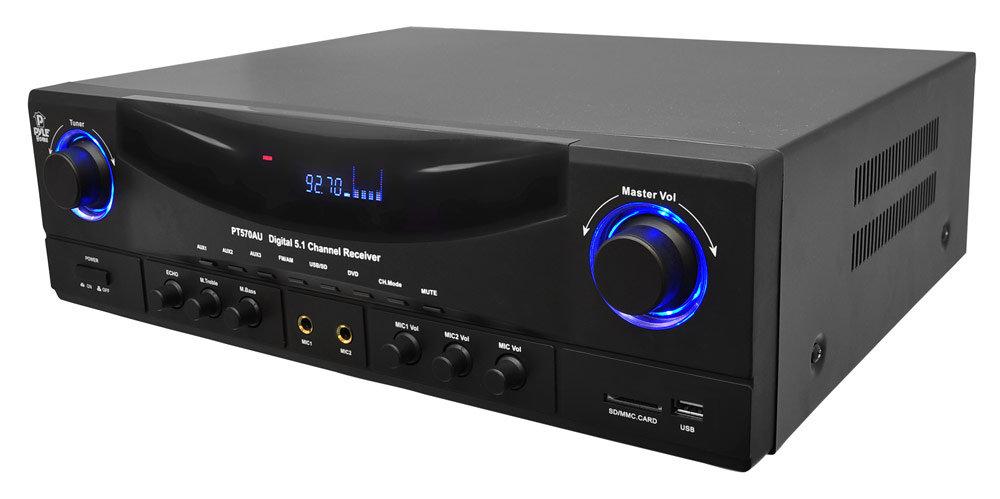 Amazon.com: Pyle PT570AU 5.1-Channel Amplifier Receiver