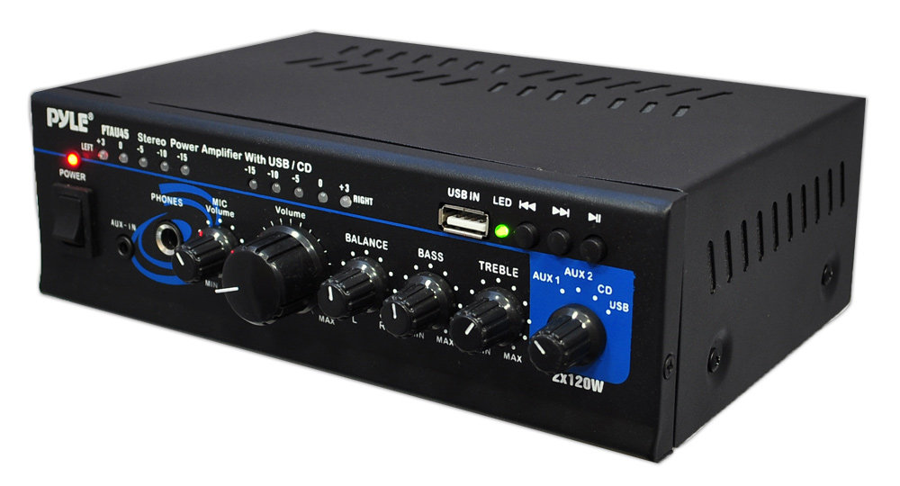 Pylehome Ptau45 Home And Office Lifiers Receivers Sound Rhpyleaudio: Audio System Amplifier At Gmaili.net