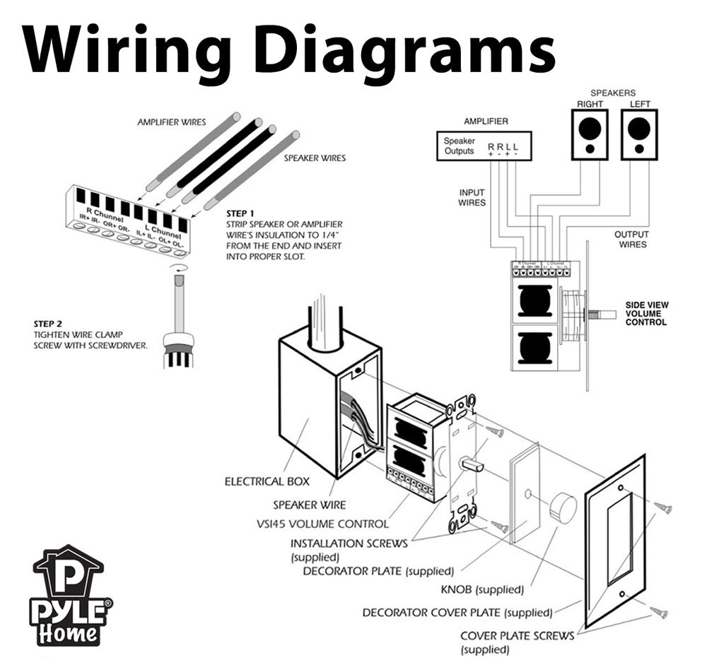 Free Apple Lightning Cable Wiring Diagram Good Cords Additionally Pioneer Power Harness On Cord Wire Iphone Charging Images Amazoncom Pyle Home Pvckt5 Wall Mount Rotary Volume Control Knob