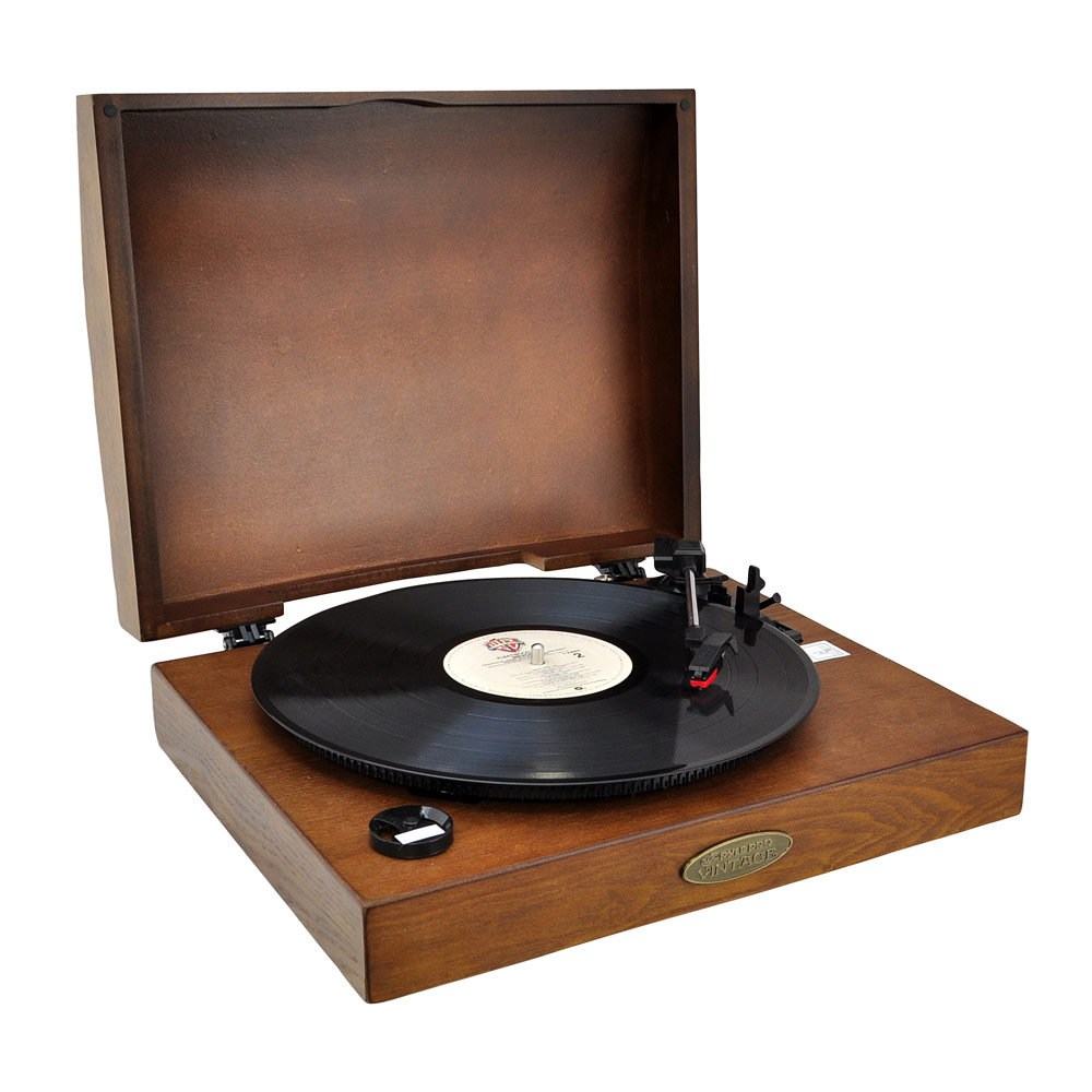 Pyle Home Pvntt1t Classic Retro Usb Phonograph Turntable