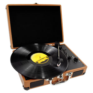 The Pyle PVTT2U Retro Belt-Drive Turntable