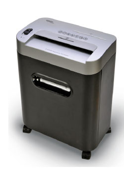 The Multi-Cut Shredder is six times more secure than crosscut shredders