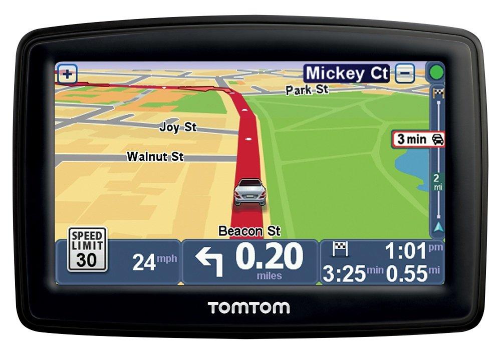 tomtom start 55tm 5 inch gps navigator with lifetime traffic maps and roadside assistance. Black Bedroom Furniture Sets. Home Design Ideas