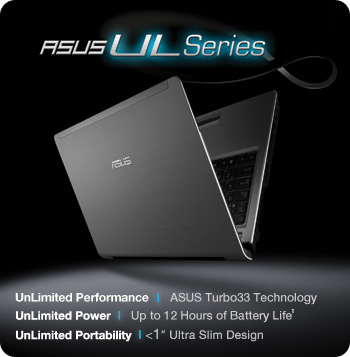 UL30Vt silver main ASUS UL30VT X1K: ASUS UL30Vt X1 Thin and Light 13.3 Inch Black Laptop (11 Hours of Battery Life)