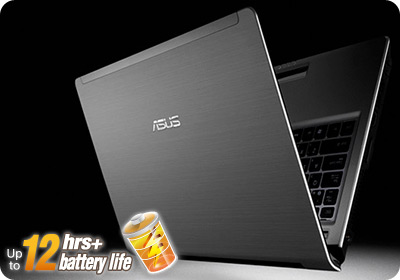 UL30vt sil battlife ASUS UL30VT X1K: ASUS UL30Vt X1 Thin and Light 13.3 Inch Black Laptop (11 Hours of Battery Life)