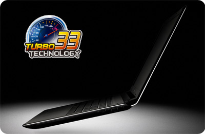 UL30vt turbo33 ASUS UL30VT X1K: ASUS UL30Vt X1 Thin and Light 13.3 Inch Black Laptop (11 Hours of Battery Life)