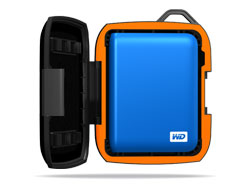 WD Nomad Rugged Case - custom-design for My Passport drives.