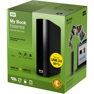 WD My Book Essential Box
