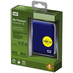 WD My Passport Essential SE Box