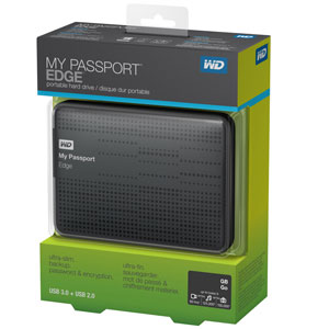 Ổ cứng di động WD My Passport Edge Portable External Hard Drive Storage USB 3. 0