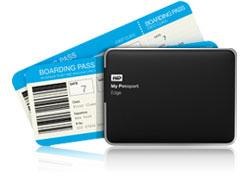 WD My Passport Edge for Mac - Ultra-slim