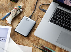 WD My Passport for Mac - Compact design