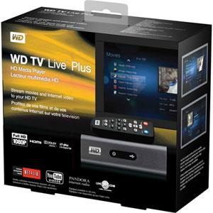 WD TV Live Plus Box
