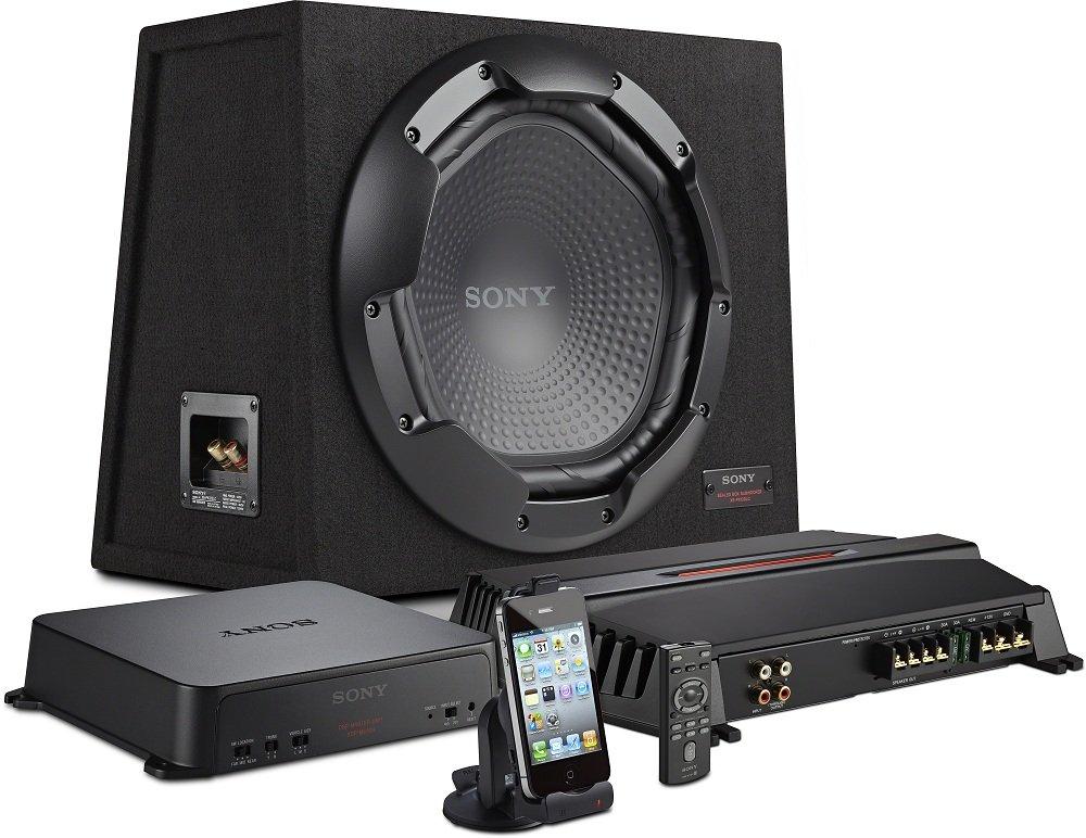 sony xdppk1000 digital link sound system with subwoofer. Black Bedroom Furniture Sets. Home Design Ideas