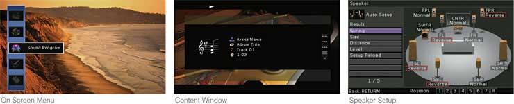 Advanced Multi-language GUI On-screen Display