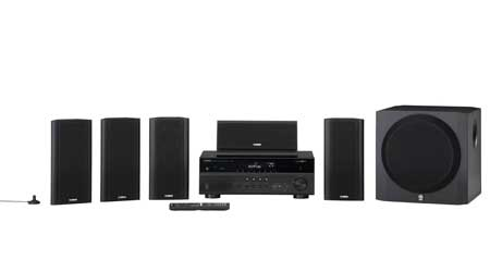 Yamaha yht799ubl high quality durable 115w 5 1 for Yamaha home theatre customer care number