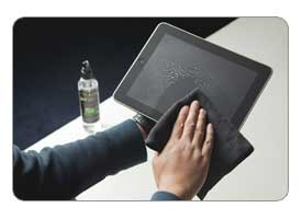 Antec Advance sprays clean all types of electronic devices including iPads