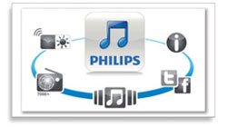 Philips Fidelio SoundSphere AirPlay Speakers DS9800W/37 Product Shot