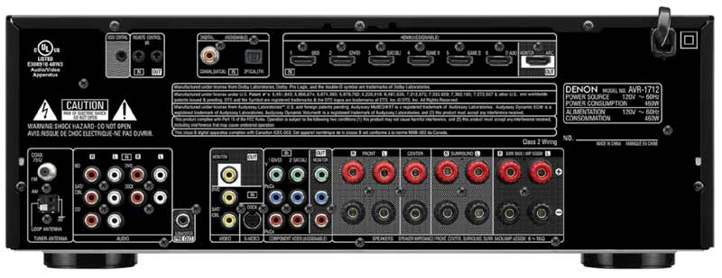 denon surround sound wiring diagram  denon  get free image