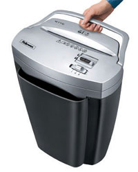 Fellowes Powershred W11C Cross-Cut Shredder Product Shot