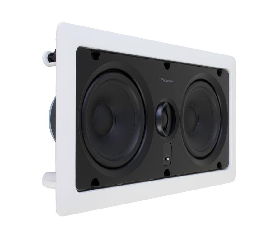 amazoncom pioneer siw531l custom series inwall center