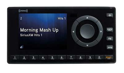 XM Onyx Satellite Radio with PowerConnect Vehicle Kit Product Shot