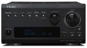 Teac AG-H380 AM/FM Receiver USB iPod Interface (Black) Product Shot