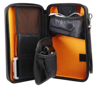 Amazon�x�[�V�b�N �|�[�^�u���@�� (�J����, �g�ѓd�b, GPS �Ȃ�)�p Semi-Rigid Case �u���b�N