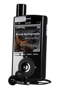XMp3i Portable Satellite Radio Product Shot