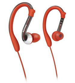 Philips ActionFit Earhook headphones, SHQ3000/28 Product Shot
