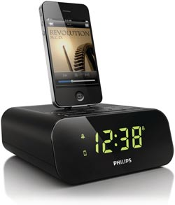 Philips Clock radio for iPod and iPhone, AJ3270D/37 Product Shot