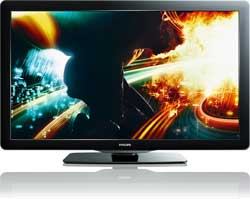 Philips 55PFL5706/F7 MediaConnect 55-inch 1080p 120Hz LCD HDTV with Wireless NetTV Product Shot