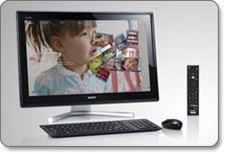 Sony L22-Series VAIO 24-Inch Desktop Product Shot