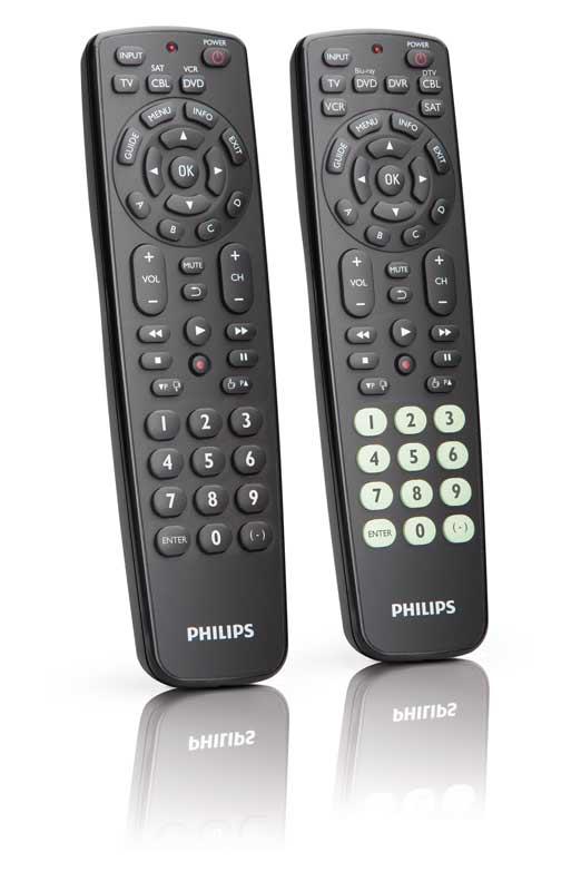 Programming philips remote control
