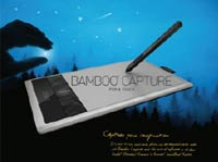 Bamboo Capture Product Shot