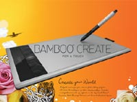 Bamboo Create Product Shot