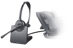 Plantronics CS510 Monaural Wireless Headset Product Shot