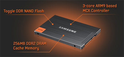SSD Drive product shot