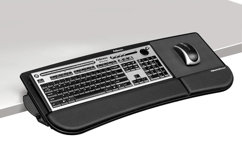 Amazon.com: Fellowes Tilt-n-Slide Keyboard Manager (8060101