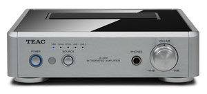 Teac AH-01-S Stereo Amplifier with D/A Converter (Silver) Product Shot