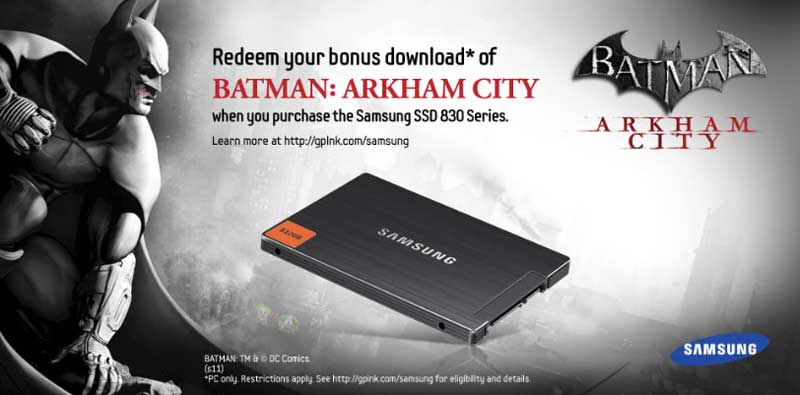 Free Batman Download with Purchase