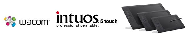 Bảng vẽ Wacom Intuos5 Touch Small Pen Tablet (PTH450)