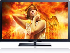 Philips 50PFL3807 50-Inch LCD Wireless SmartTV HDTV Product Shot